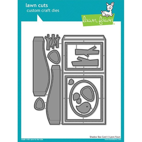 Lawn Fawn SHADOW BOX CARD Lawn Cuts
