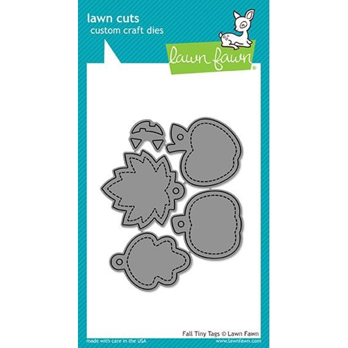 Lawn Fawn FALL TINY TAGS Lawn Cuts LF1493 Preview Image
