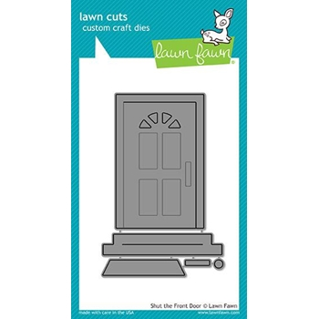Lawn Fawn SHUT THE FRONT DOOR Lawn Cuts LF1495