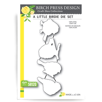 Birch Press Design A LITTLE BIRDIE Craft Die 58120