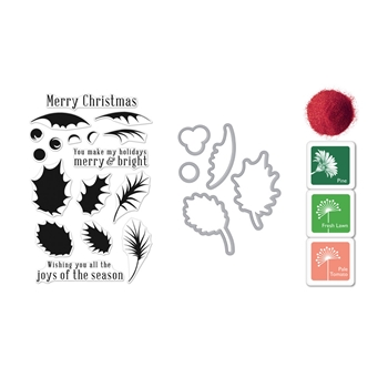 Hero Arts Color Layering HOLLY Bundle SB175