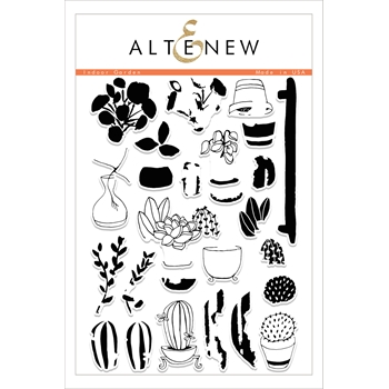 Altenew INDOOR GARDEN Clear Stamp Set ALT1756