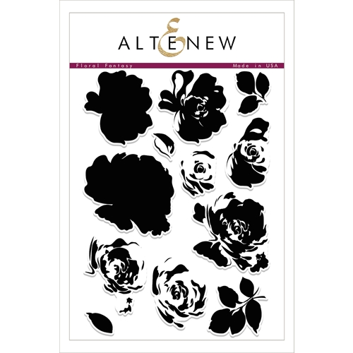 Altenew FLORAL FANTASY Clear Stamp Set ALT1754 Preview Image
