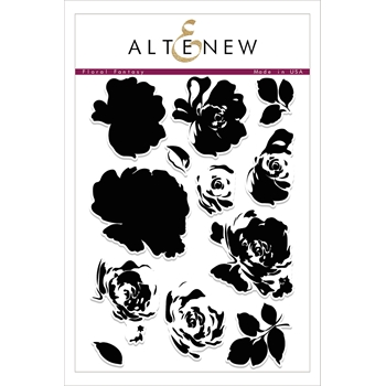 RESERVE Altenew FLORAL FANTASY Clear Stamp Set