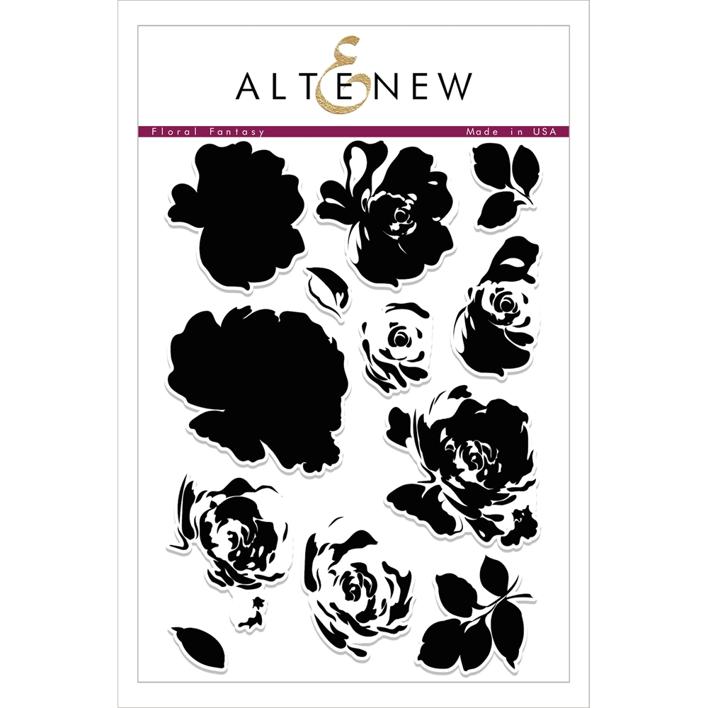 Altenew FLORAL FANTASY Clear Stamp Set ALT1754 zoom image