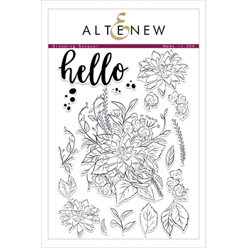 Altenew BLOOMING BOUQUET Clear Stamp Set ALT1752
