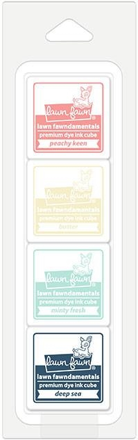 Lawn Fawn ICE CREAM PARLOR Premium Dye Ink Cube Pack LF1531