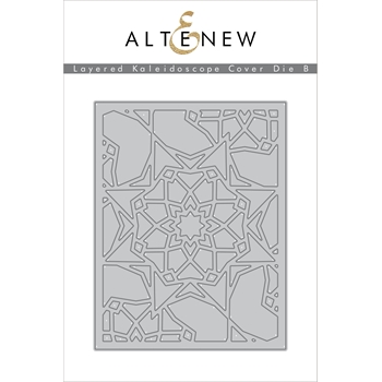 Altenew LAYERED KALEIDOSCOPE B COVER Die Set