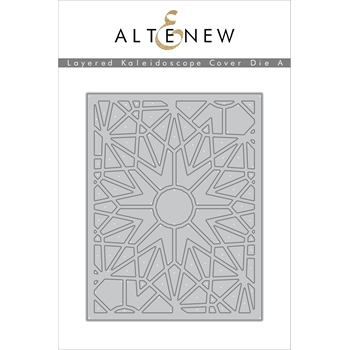 RESERVE Altenew LAYERED KALEIDOSCOPE A Cover Die