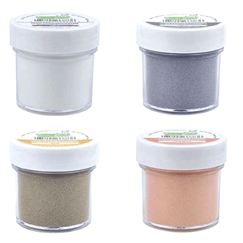 Lawn Fawn SET LF17SETEP EMBOSSING POWDER Contains 4 Jars