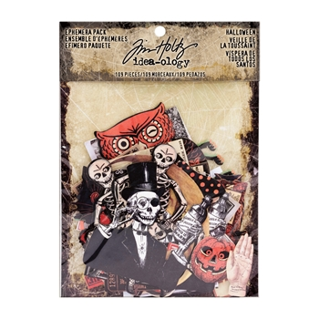RESERVE Tim Holtz Idea-ology HALLOWEEN Ephemera Pack TH93603