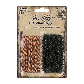 RESERVE Tim Holtz Idea-ology HALLOWEEN Trimmings TH93608