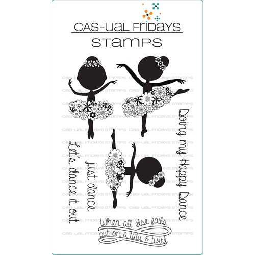 Cas-ual Fridays TUTU Clear Stamps CFS1716 Preview Image