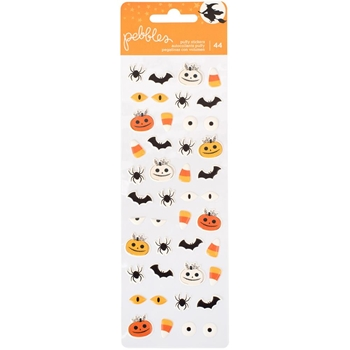 Pebbles Inc. PUFFY STICKERS Midnight Haunting 733656