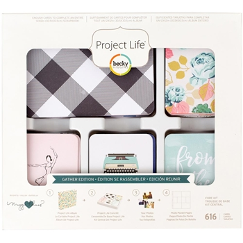 Becky Higgins American Crafts Project Life GATHER Edition Core Kit 380821