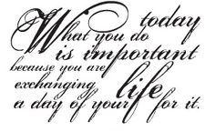 Tim Holtz Rubber Stamp WHAT YOU DO K5-1155 Stampers Anonymous Preview Image