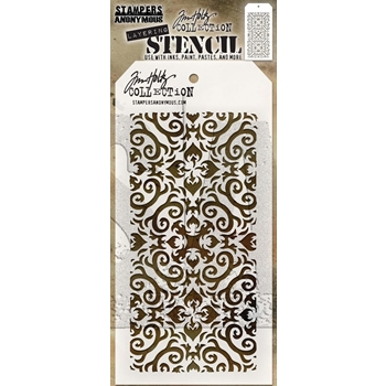 RESERVE Tim Holtz Layering Stencil FLAMES THS091