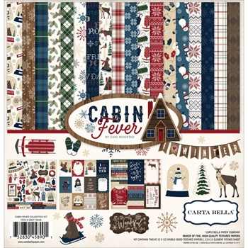 Carta Bella CABIN FEVER 12 x 12 Collection Kit CBCF73016