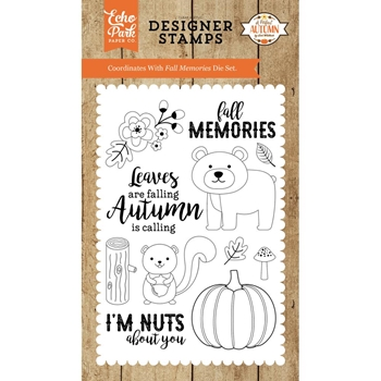 Echo Park FALL MEMORIES Clear Stamps APA132046