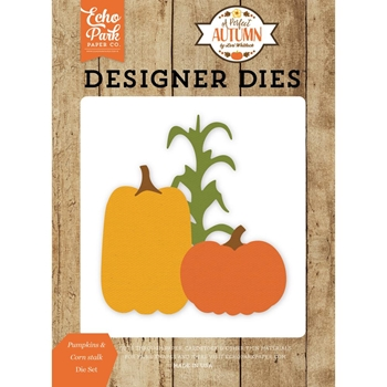 Echo Park PUMPKINS & CORN STALK Die Set APA132041