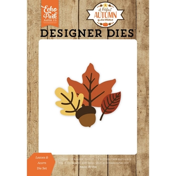 Echo Park LEAVES & ACORN Die Set APA132040