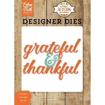 Echo Park GRATEFUL & THANKFUL Die Set APA132042