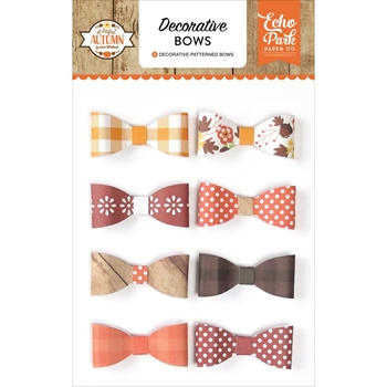Echo Park A PERFECT AUTUMN Decorative Bows APA132063