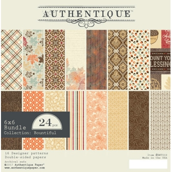 Authentique 6 x 6 BOUNTIFUL Paper Pad BNT010