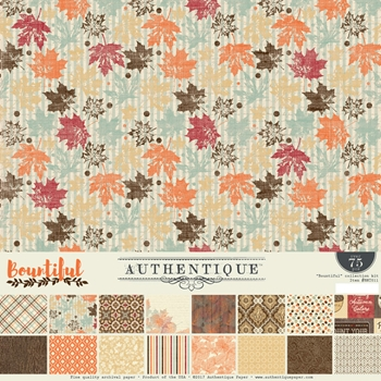Authentique BOUNTIFUL 12 x 12 Collection Kit BNT011