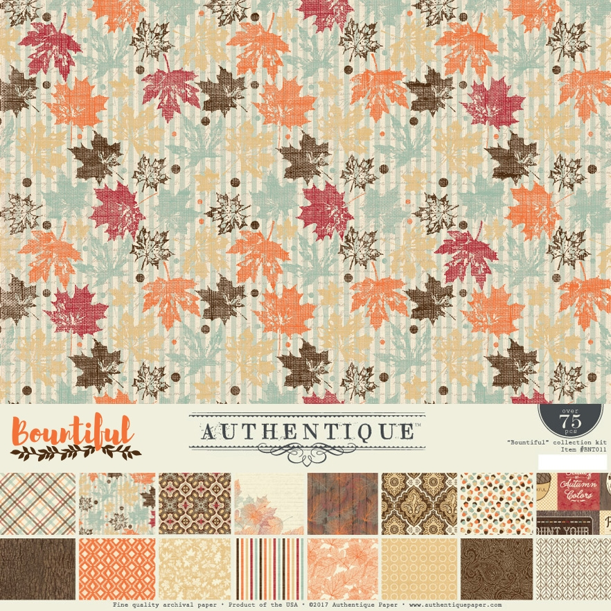 Authentique BOUNTIFUL 12 x 12 Collection Kit BNT011* zoom image