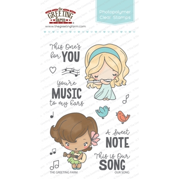 The Greeting Farm OUR SONG Clear Stamps TGF330