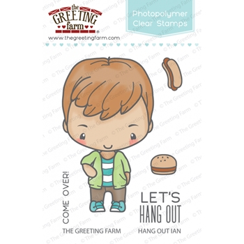The Greeting Farm HANG OUT IAN Clear Stamps TGF334