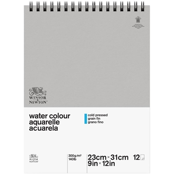 Winsor Newton CLASSIC WATERCOLOR SPIRAL Paper Pad 6663247*