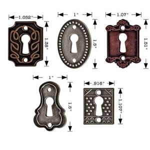 Tim Holtz Idea-ology KEYHOLES Key Hardware Altered Art Metal  TH92718 Preview Image