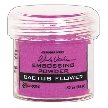 Ranger Wendy Vecchi Embossing Powder CACTUS FLOWER WEP49043