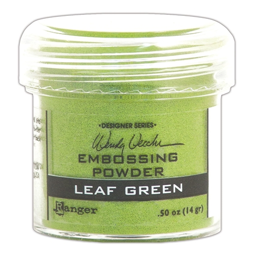 Ranger Wendy Vecchi Embossing Powder LEAF GREEN WEP48046 Preview Image