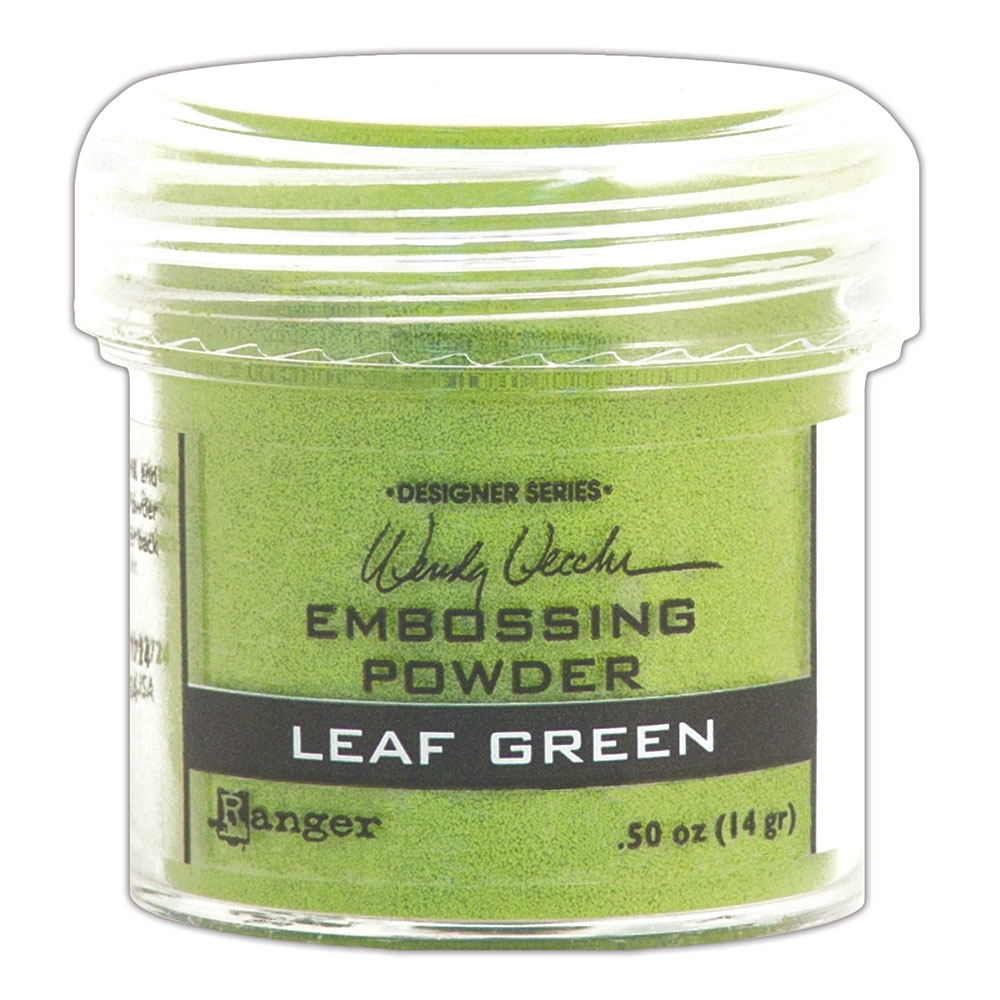 Ranger Wendy Vecchi Embossing Powder LEAF GREEN WEP48046 zoom image