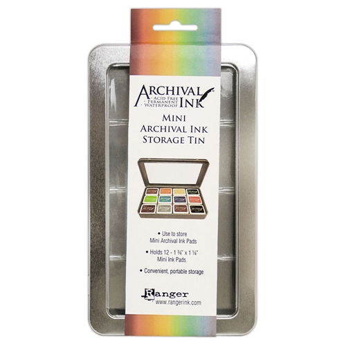 Ranger Mini Archival Ink Pads STORAGE TIN AIMA58434 Preview Image