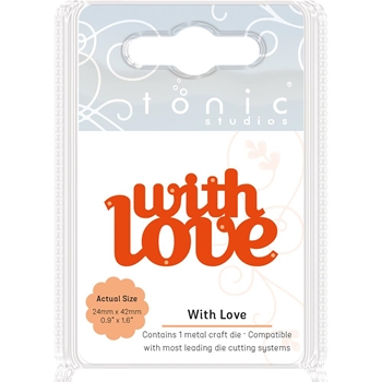 Tonic WITH LOVE Miniature Moments Sentiment Die 1717E