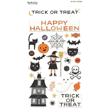 My Mind's Eye TRICK OR TREAT Puffy Stickers HLW117