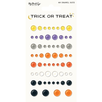 My Mind's Eye TRICK OR TREAT Enamel Dots HLW113