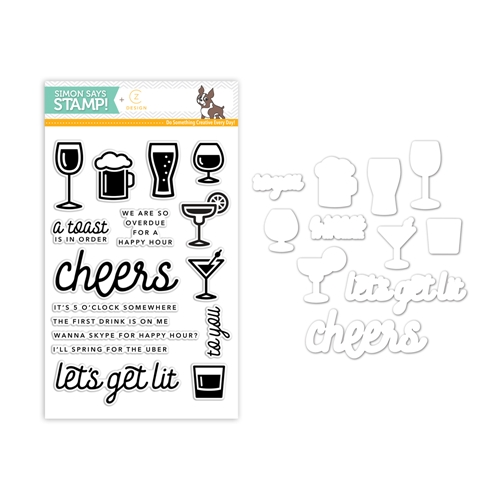 CZ Design Coordinating Set HAPPY HOUR CZSET1 Preview Image