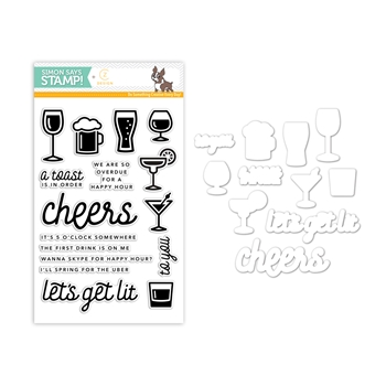 CZ Design Coordinating Set HAPPY HOUR CZSET1