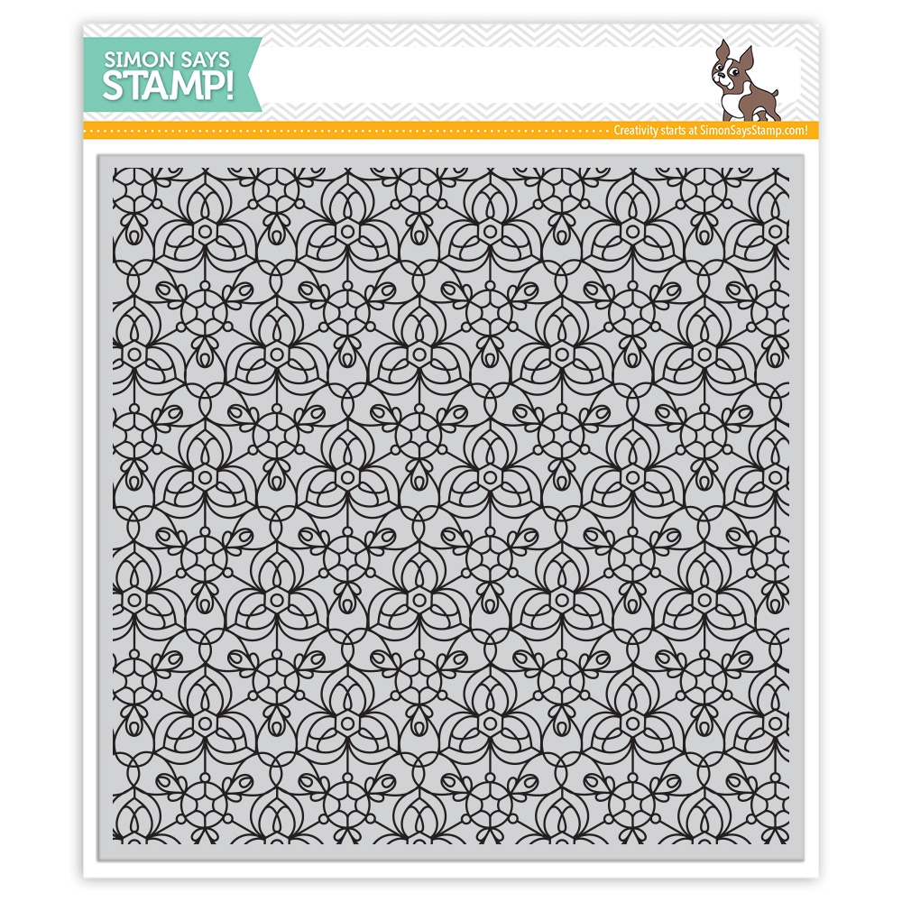 Simon Says Cling Rubber Stamp KALEIDOSCOPE