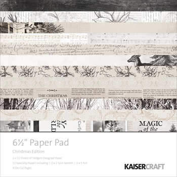 Kaisercraft CHRISTMAS EDITION 6.5 x 6.5 Inch Paper Pad PP1027