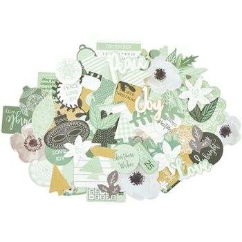 Kaisercraft MINT WISHES COLLECTABLES Die Cut Shapes CT891
