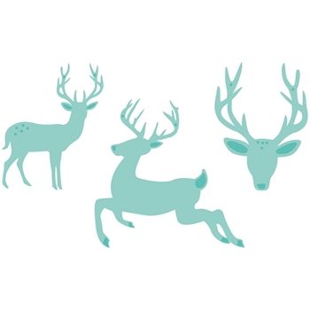Kaisercraft REINDEER SET DIY Cuts Decorative Dies DD596
