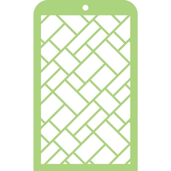 Kaisercraft METAL PLATES Mini Designer Template Stencil IT020
