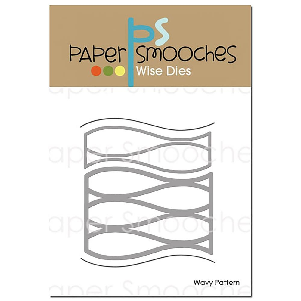 Paper Smooches WAVY PATTERN Wise Dies A2D402 zoom image