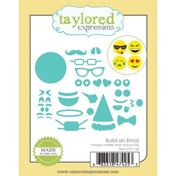 Taylored Expressions BUILD AN EMOJI Die Set TE1126